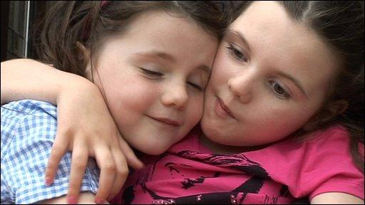 Daisy (left) and Molly Moore