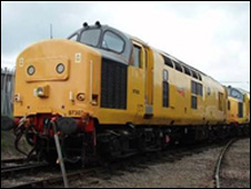 Network Rail train