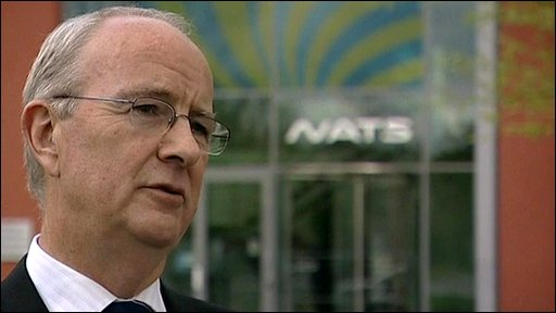 Director of the National Air Traffic Service, Ian Hall