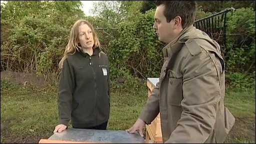 Emma Hill, assistant head gardener at Dunham Massey