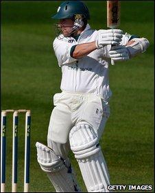 Worcestershire batsman Daryl Mitchell