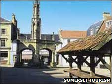 Shepton Mallet - image courtesy Somerset Tourism