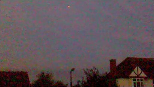 A UFO captured on film over Wollaston, Stourbridge on 17 May 2010