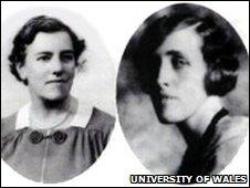 Gwendoline and Margaret Davies