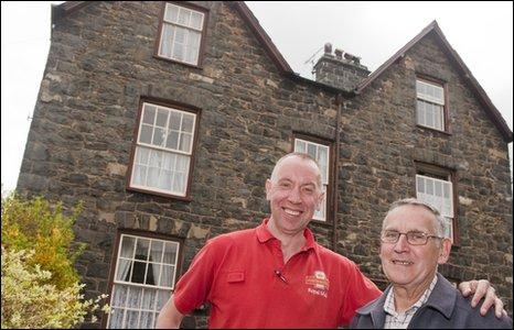 Stephen Jones (left) and Hywel Williams