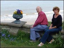 John and Sheila Green at Thorpeness