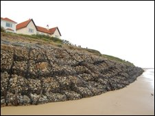 Gabions at Thorpeness