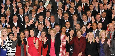 New MPs in 2010 Parliament