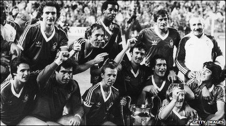 Nottingham Forest European Cup winner 1980