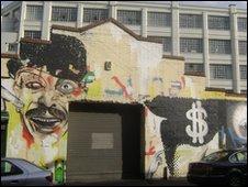 Graffiti at Eastside