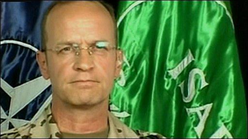 Isaf's Brigadier General Josef Blotz