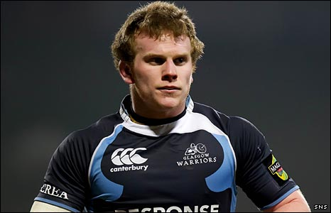 Glasgow Warriors flanker Chris Fusaro