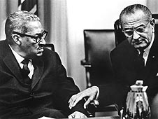 Thurgood Marshall and LBJ