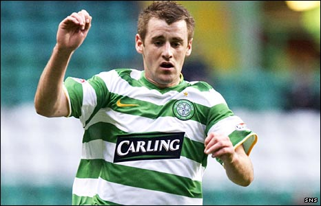 Celtic winger Niall McGinn