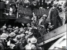 Operation Dynamo 1940, the Evacuation Operation of Allied Servicemen