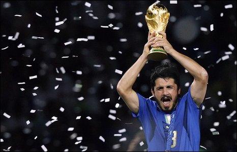 Italy midfielder Gennaro Gattuso