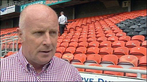 Dundee Utd interim manager Peter Houston