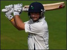 Yorkshire batsman Adam Lyth