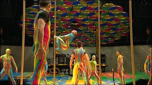 Saltimbanco a Cirque Du Soleil show