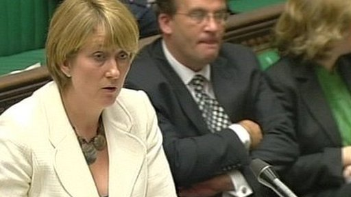 Former Home Secretary and Redditch MP Jacqui Smith