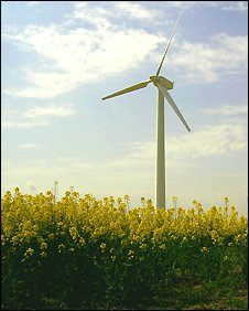 Hockerton wind turbine