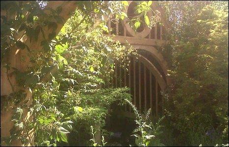 Roger Platt's garden