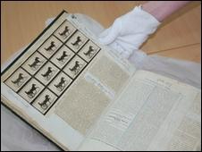 Muybridge's scrap book