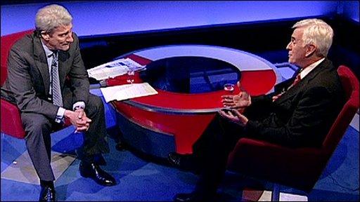 Jeremy Paxman and John McDonnell