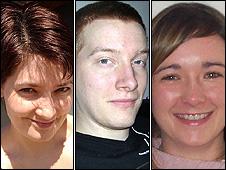 Jennifer Findlay, Mike Armitage and Janine Moohan