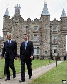 Owen Paterson and David Cameron