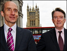 Lords Adonis and Mandelson
