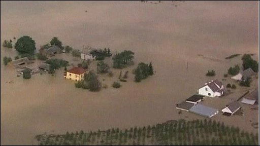 Flooding in Poland