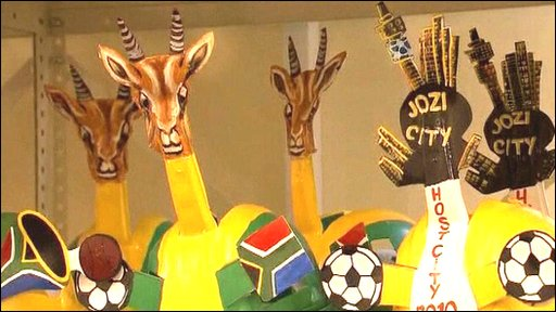 Makarapas - colourful hats for the World Cup
