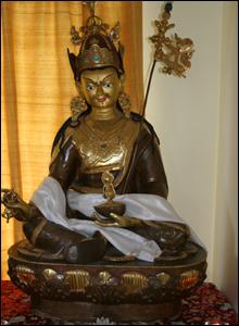 The image of Guru Rinpoche