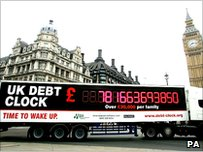 Tax Payers' Alliance Debt Clock