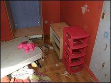 Charlotte Avenall's bedroom