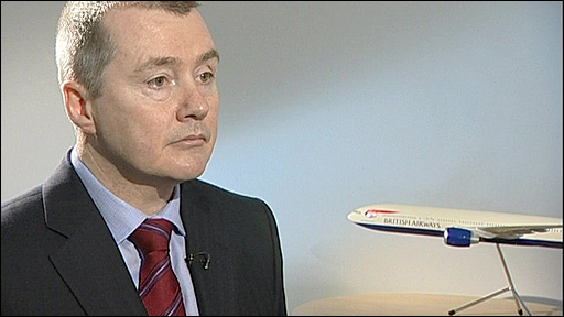 BA's chief executive Willie Walsh
