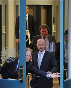 William Hague exits Cabinet Office