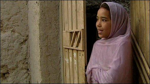 Ten-year-old Nargis