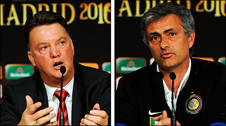 Such is the crackpot, knee jerk, short termism that reigns at the Bernabeu that no one would be surprised if voices inside the club did not start calling for Louis van Gaal to be installed as Reals new manager should he get the better of Mourinho   Pete Jenson