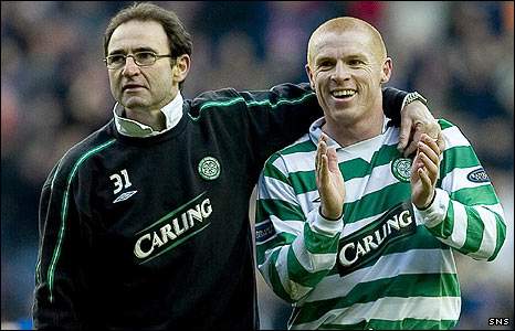 O'Neill and Lennon enjoyed great success together at Celtic