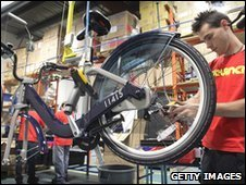Cycle on the production line in Canada