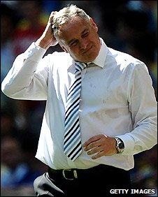 Cardiff boss Dave Jones feels the pain of defeat