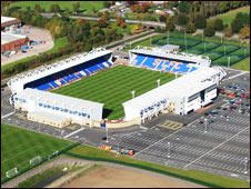 Shrewsbury Town ground