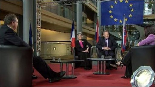 MEPs debate coalition government
