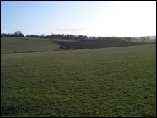 A hill outside Donnington was believed to be the site of the battle
