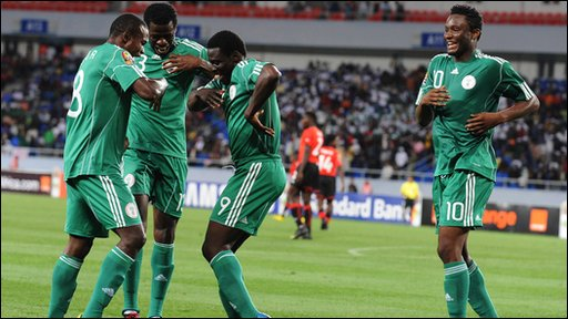 World Cup 2010 Nigeria's John