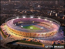 The Olympic Stadium (graphic)
