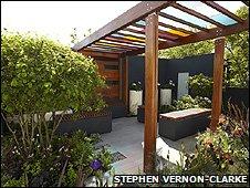 Olivia Kirk's garden at Chelsea