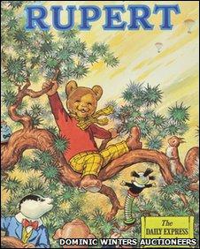 Rupert Bear annual